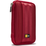 Case Logic QHDC101 Compact Portable Small Hard Drive Case - Red
